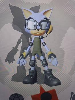 Gwyn the Cat (Sonic Force OC)