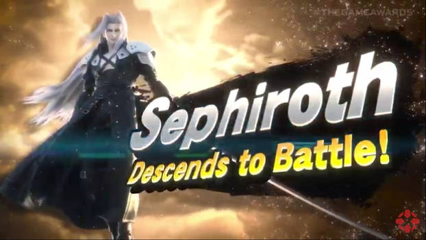 Sephiroth is in Smash!!!