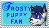 Frostypuppy Fan stamp by jonrayasha