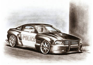 Ford Mustang - Ramming Beast by Medvezh