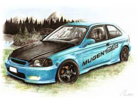 Honda Civic - VY Canis Majoris by Medvezh