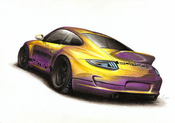 2010 Porsche 911 - Pollux by Medvezh