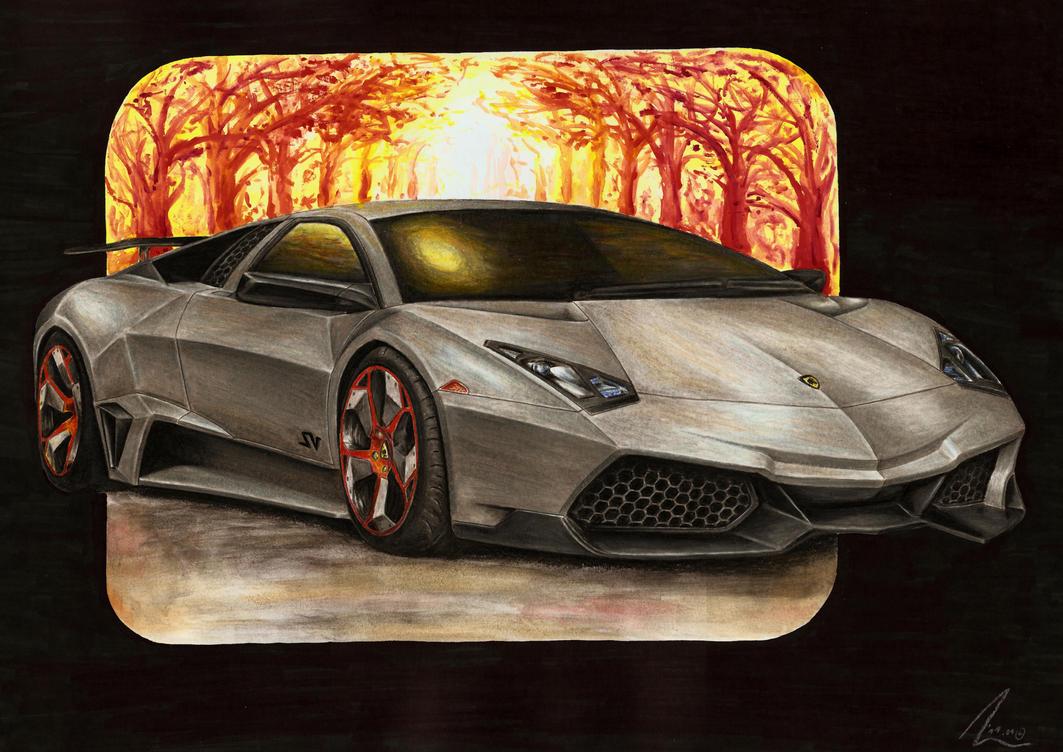 Lamborghini Reventon SV by Medvezh