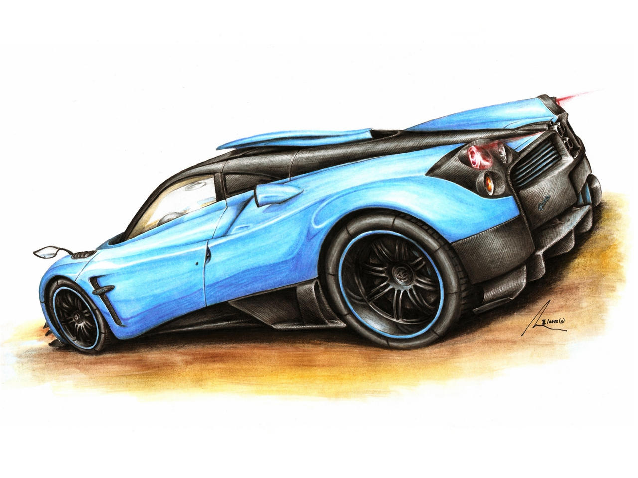 Pagani Huayra Quota by Medvezh