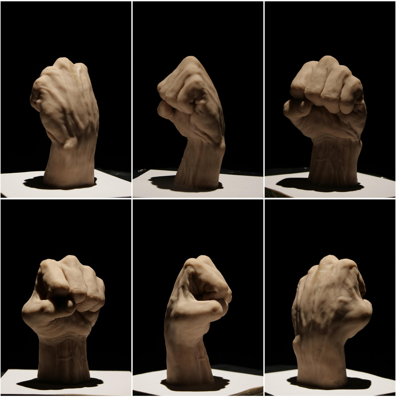 fist study by kezeff
