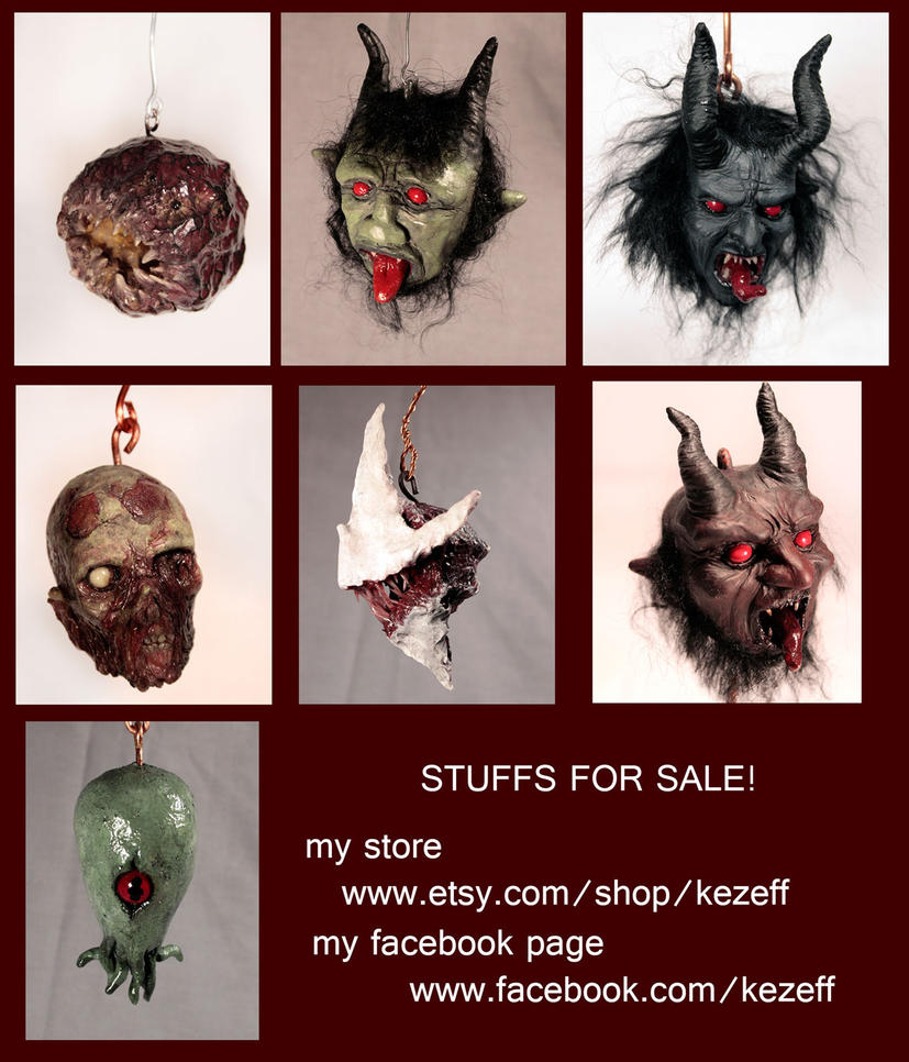 Stuffs for Sales by kezeff