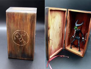 Dybbuk in Dybbuk Box