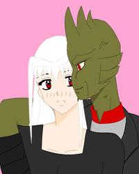 Koyuki and Drago by MurderousGirl97