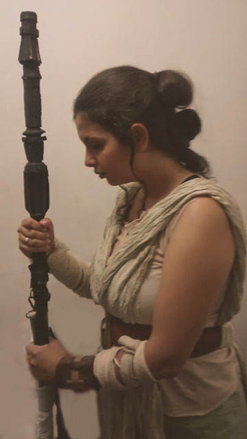 The force has awakened by melcosplay
