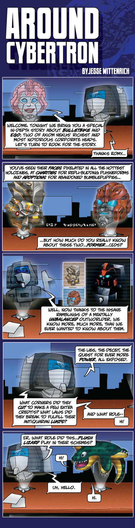 Around Cybertron 2 by RID-NightViper