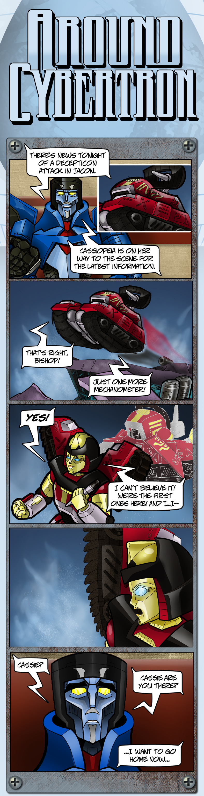 Around Cybertron Part 13 by RID-NightViper