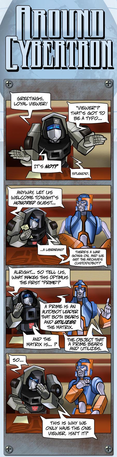 Around Cybertron Part 15 by RID-NightViper