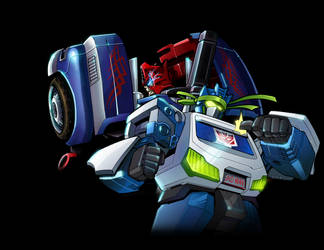 BotCon 2012 Ultra Magnus and Soundwave by RID-NightViper