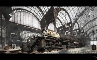 Union Pacific Big Boy final by nieaCry