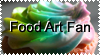 Food Art Fan Stamp by VengeanceIsForEver