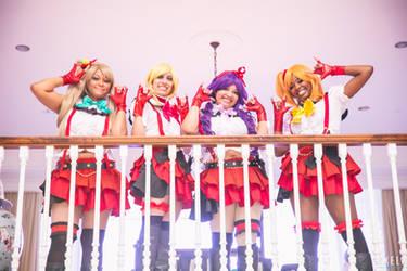 Love Live! - Kotori, Eli, Nozomi, and Honoka
