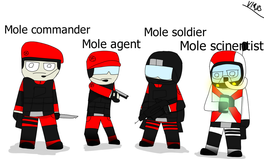 Mole classes v2 by RealVirus86