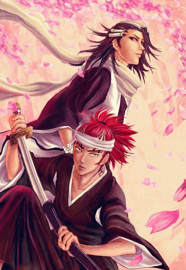 Byakuya and renji