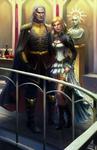 Warhammer 40K : Van Demian and Erisme