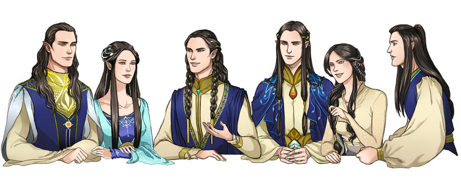 The Happy House of Fingolfin by ForeverMedhok