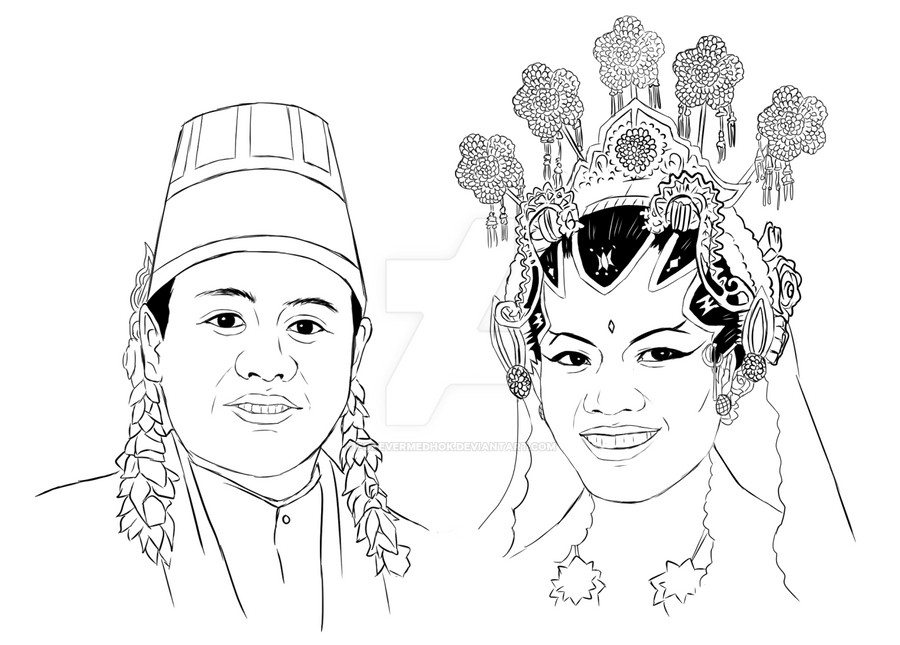 Commission : Nikahan Jawa (Indonesian Only) by ForeverMedhok