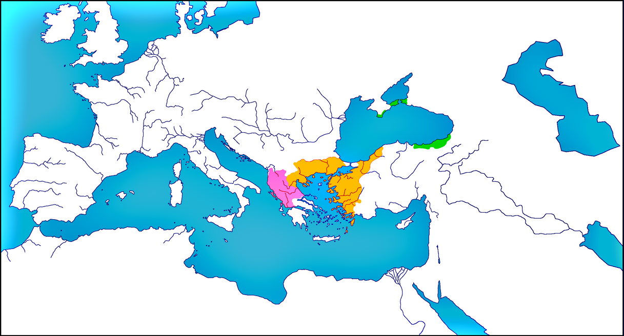 Empire of Nicaea in 1255 by woodsman2b
