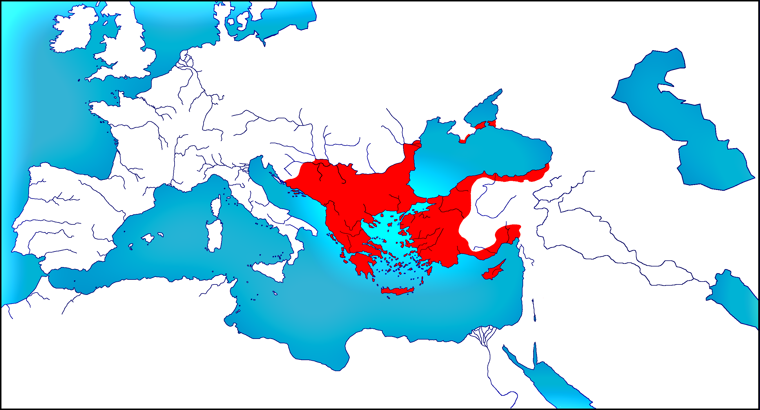 Roman Empire in 1180 by woodsman2b