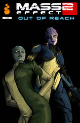 ME2 Out of Reach #1 Cover by Telikor