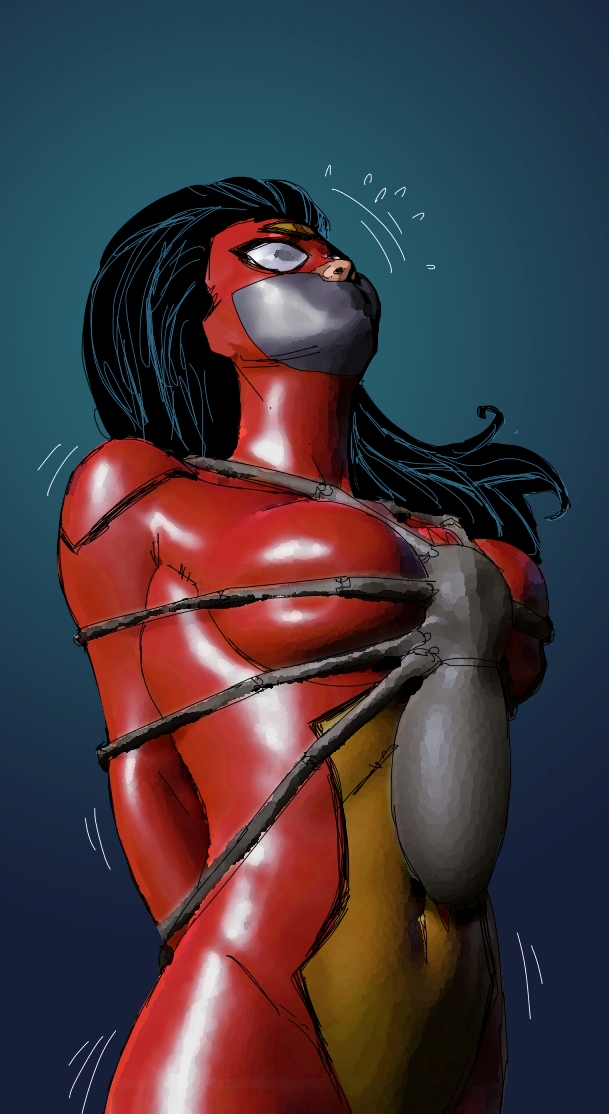 Spider-Woman - filter test by shibaji