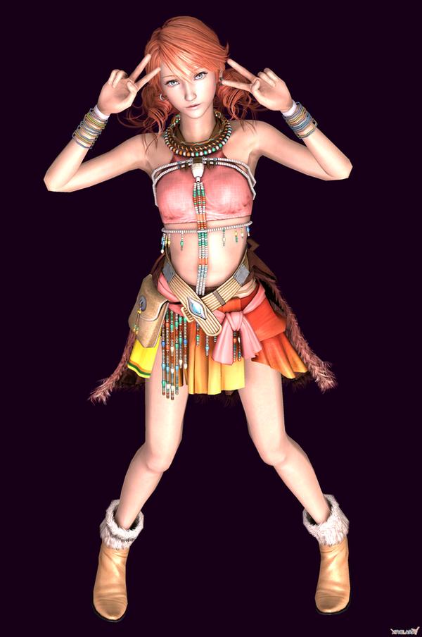 Vanille says HAI HAI HAI! by HentaiAhegaoLover