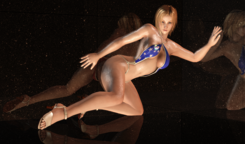 Tina Armstrong - Gravure Patriotism - 12 by HentaiAhegaoLover