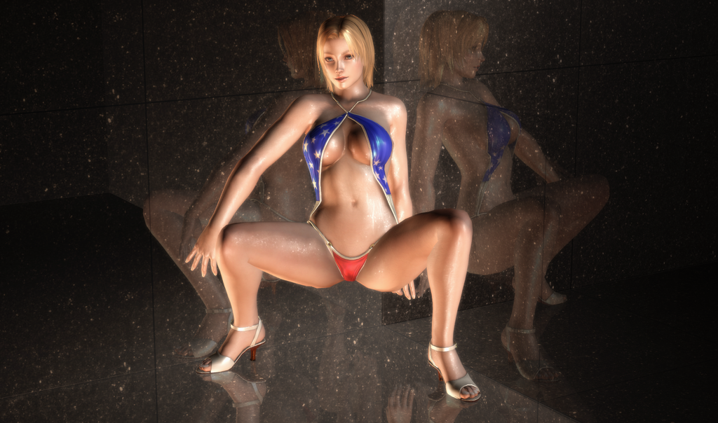 Tina Armstrong - Gravure Patriotism - 17 by HentaiAhegaoLover
