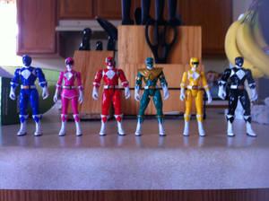 Mighty Morphin Power Rangers Toys