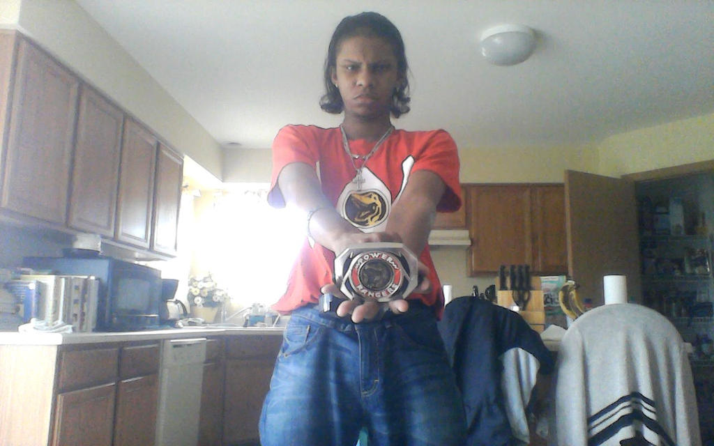Maybe I'm the Red Mighty Morphin Power Ranger?