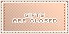 Gifts :: Closed || Art Status Stamp by Kiibun
