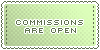 Commissions :: Open || Art Status Stamp by Kiibun