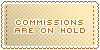 Commissions :: On Hold || Art Status Stamp by Kiibun