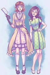 {RQ} Hana + Katie by HonestlyGrey