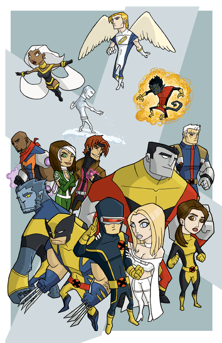 x-men group poster by the-slift
