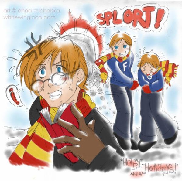 weasley holidays by babyjami