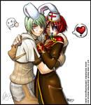 bara-chan and jami OC 2