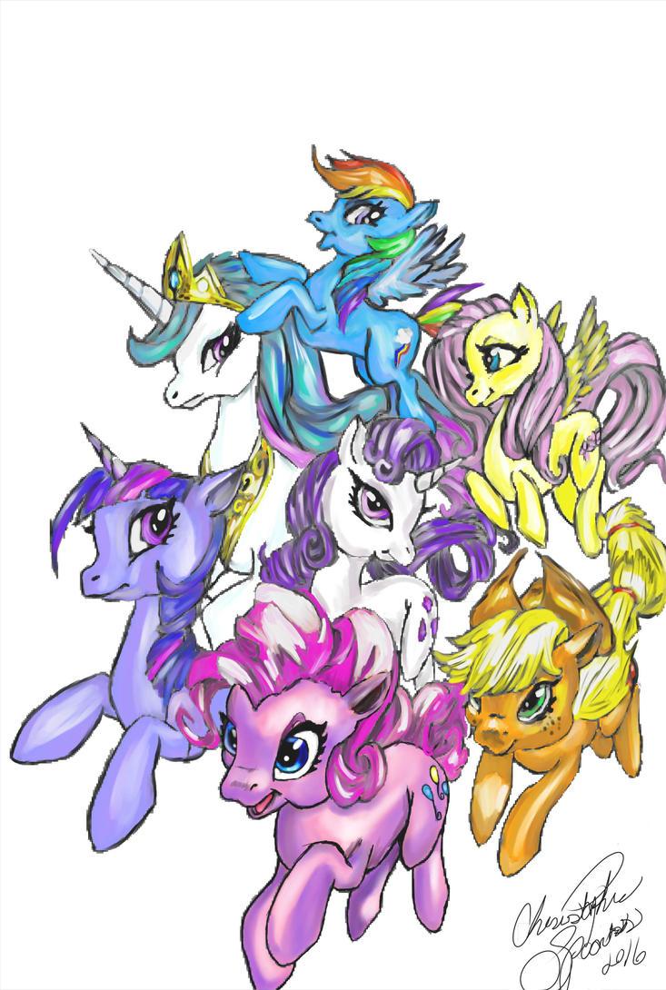 My Little Pony by ZeroSakhalan