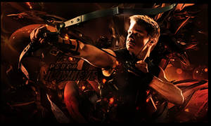 Firma Avengers Hawkeye by Katxiru