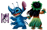 Render Lilo y Stitch