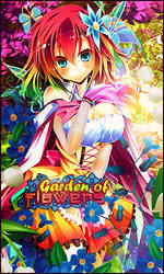 Firma Garden of Flowers by Katxiru