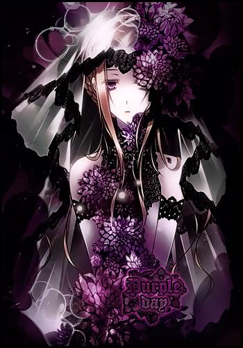 Firma Purple Day by Katxiru