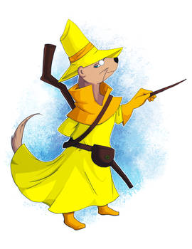 Xell the Magical Weasel Wizard