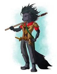 Carrie Tunbar, the Porcupine Messenger