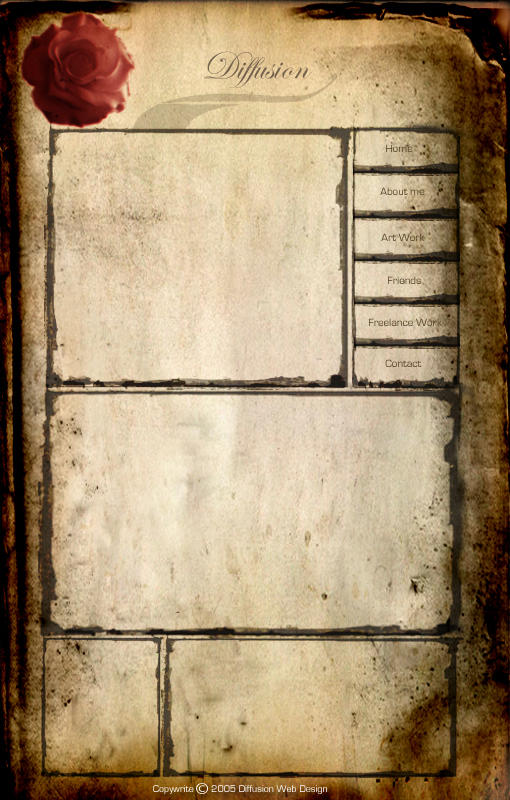 Template Design: Old Paper by Diffusionist on DeviantArt