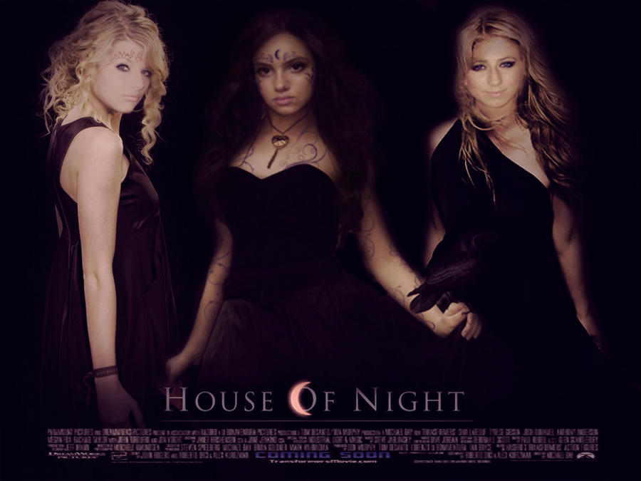 House of night mega poster by zvunche on deviantart for Housse of night